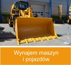 Rental of machinery and vehicles